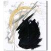Oliver Gal Artana 'Moonshine' Art Print Wrapped on Canvas