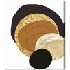 Oliver Gal Artana 'Golden Thoughts' Graphic Art Wrapped on Canvas