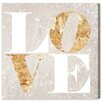 Oliver Gal Build on Love Spark' by Art Remedy Typography Wrapped on Canvas