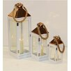 Noor Living 3-Piece  Lantern Set