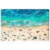 Oliver Gal 'A Day At the Beach' by Art Remedy Art Print Wrapped on Canvas