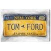 "Oliver Gal Leinwandbild ""New York New York"" von Carson Kressley, Retro-Werbung"
