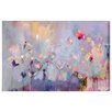 Oliver Gal 'Infinitely Divine' Framed Wall art on Wrapped Canvas