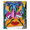Oliver Gal 'Her Face' by Manuel Roman Art Print Wrapped on Canvas