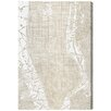 Oliver Gal 'Phylum Design the Golden City'' Graphic Art Wrapped on Canvas