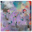 Oliver Gal 'Calypso' Framed Wall art on Wrapped Canvas