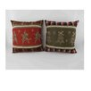 Craft Outlet 2 Piece Christmas Throw Pillow Set