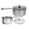 de Buyer Milady 4 Piece Stainless Steel Cookware Set