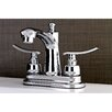 Kingston Brass Jamestown Standard Centerset Bathroom Faucet with Drain Assembly
