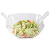 Present Time Melamine Salad Bowl in Clear