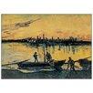 Castleton Home 'Arles Le Port Le Soir' by Vincent Van Gogh Art Print