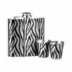 Wildon Home Flachmann-Set Zebra