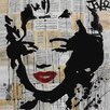 Art Group Loui Jover - Marilyn Canvas Wall Art