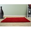 UK Furnishing UK Ltd Opus Shaggy and Flokati Red Area Rug