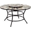 GardenToHome Lucon Outdoor Table with Fire Place