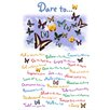 NEXT! BY REINDERS Dare To Typography Decorative Plaque