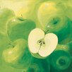 DEInternationalGraphics Apples by Inna Panasenko Painting Print