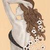 """DEInternationalGraphics Kunstdruck """"Message of Flowers""""  von Olga Gouskova"""