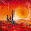 DEInternationalGraphics Soleil by Marso Painting Print