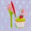 "DEInternationalGraphics Kunstdruck ""Fairyshoes II"" von Lorrie McFaul"