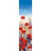 DEInternationalGraphics Poppy Field I by Hilary Mayes Painting Print