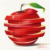 "DEInternationalGraphics Kunstdruck ""Red Apple Cut"" von Paolo Golinelli"
