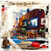 DEInternationalGraphics Balade à New York by MN.FF Graphic Art