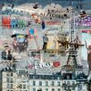 DEInternationalGraphics Les Peintres de Graffitis: Paris by Marie-Laure Vareilles Graphic Art Plaque