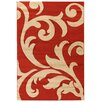 House Additions Anglet Red/Beige Area Rug