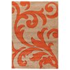 House Additions Anglet Dark Beige Area Rug