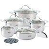 Krauff Riviera 12-Piece Cookware Set