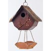 Glitzhome Hanging 12.91 in x 9.17 in x 4.76 in Birdhouse