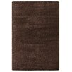 The European Warehouse Impression Brown Area Rug