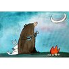 Marmont Hill 'Campfire Songs' by Andrea Doss Art Print Wrapped on Canvas