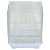 YML Flat Top Medium Parakeet Cage with Food Access Door