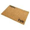 Artsy Doormats Hello Bye Doormat