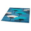 Rugstack Picasso Light Turquoise Area Rug