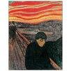 Castleton Home Poster ''Verzweiflung 1894'' von Edvard Munch, Kunstdruck