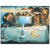 Castleton Home 'Dalì-Apparition Of Face And Fruit Dish On A Beach' by Salvador Dali Art Print