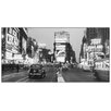 Castleton Home 'Time Square Illuminated By Large Neon Advertising Signs' by Gendreau Photographic Print