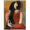 Castleton Home 'Seated Woman' by Pablo Picasso Art Print