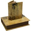 House Additions Manihiki 2 Piece Book Box Set (Set of 2)