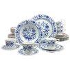 Creatable Flora Onion Pattern 30 Piece Dinnerware Set with Mug, Service for 6