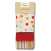 Cooksmart Spots 3-Piece Tea Towel Set