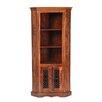 Prestington Heritage Solid Sheesham Corner Display Cabinet