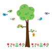WallPops! Home Decor Line Tree with Flowers Wall Decal