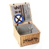 Greenfield Winchester Willow Picnic Hamper for Four People