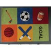 Castleton Home Kids Sport Hand-Tufted Area Rug