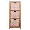 Hallowood Furniture New Waverly 3 Basket Chest
