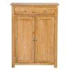 Hallowood Furniture New Waverly 2 Door 1 Drawer Cabinet